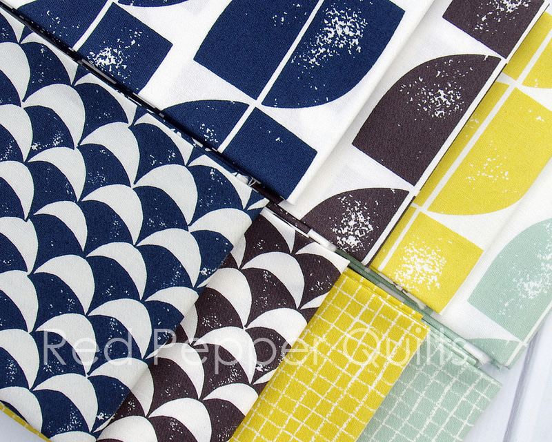 Hemma by Lotta Jansdotter for Windham Fabrics | © Red Pepper Quilts 2016
