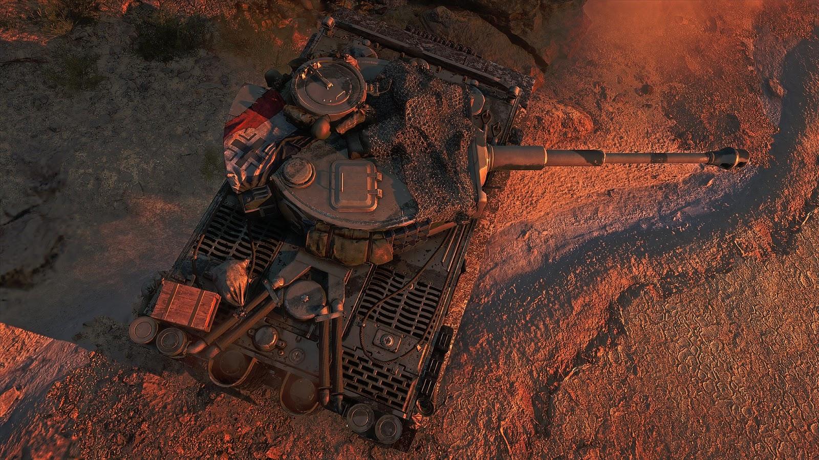 Battlefield V Tank Battles