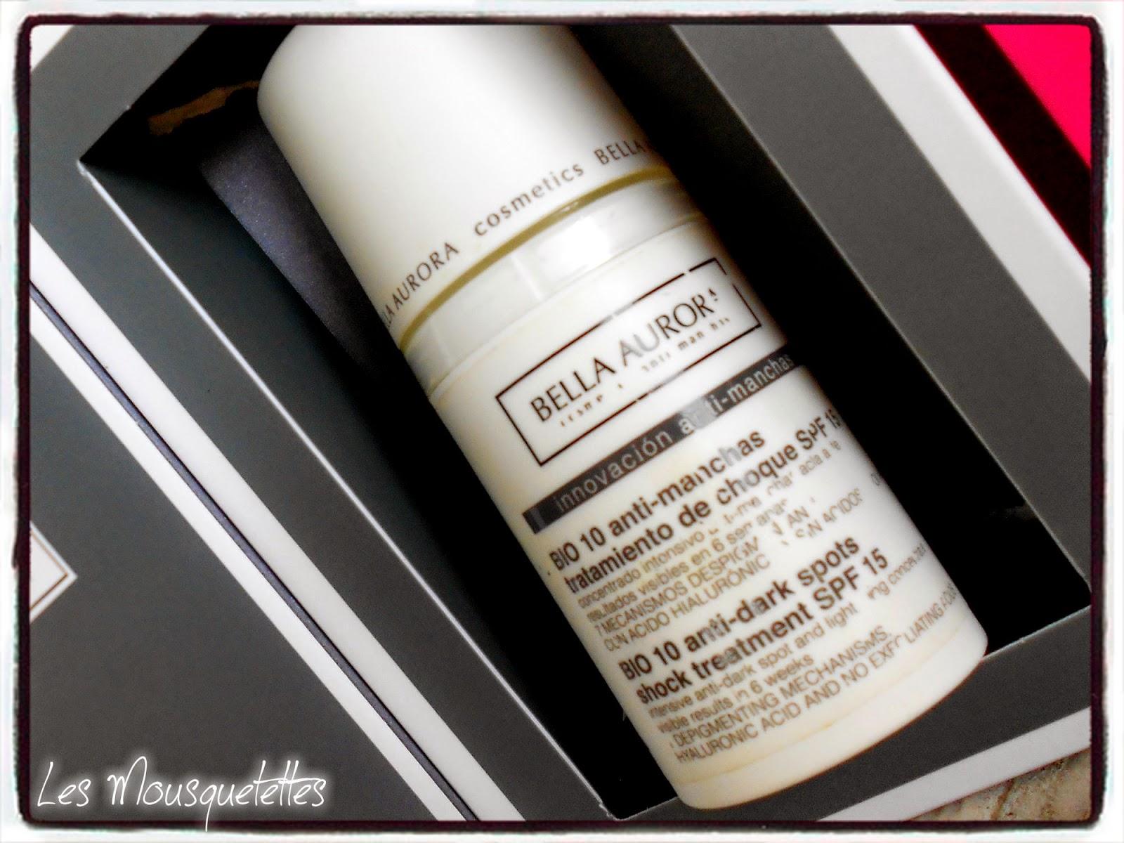 B10 traitement anti-tâches intensif Bella Aurora - Les Mousquetettes©