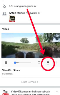 Cara Download Video di Facebook di Hp