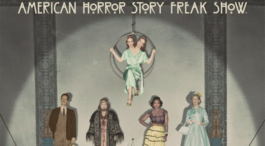 A Frenzy of 'American Horror Story: Freak Show' Posters and Images!