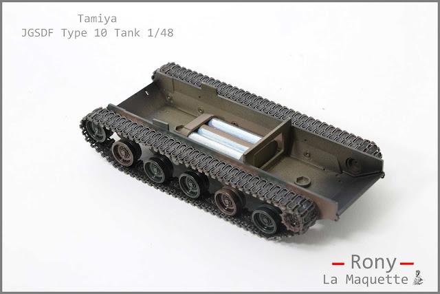 La réalisation des chenilles du char Type 10
