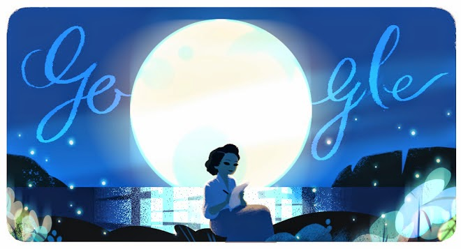 Doodle do Google homenageia Cecília Meireles