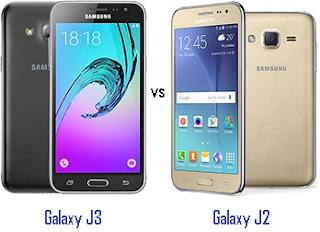 Perbandingan Samsung Galaxy J3 dengan Galaxy J2