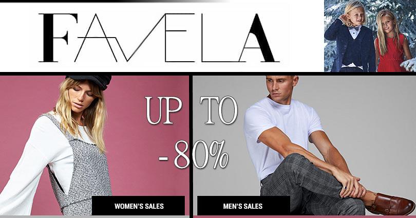 Εκπτώσεις σε Επώνυμα Brands που Ξεχωρίζουν - Favela