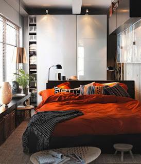 cara menata kamar tidur berukuran kecil