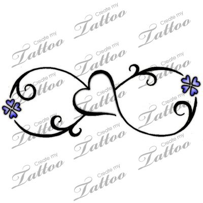 Best infinity tattoo Designs