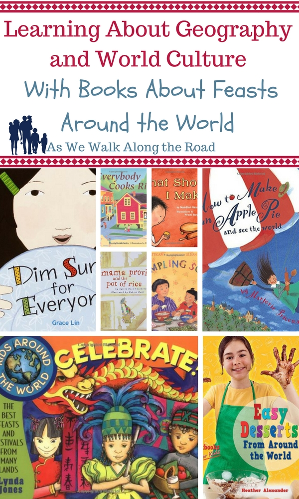 Kids books about feasts around the world