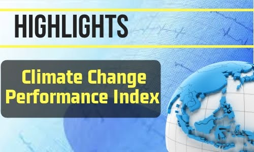 Climate Change Performance Index Highlights