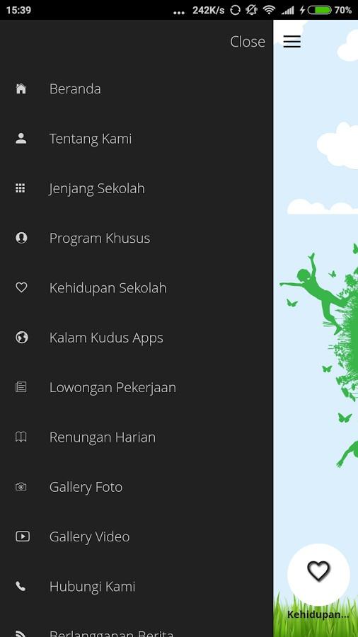 Sekolah Kristen Kalam Kudus Surakarta Luncurkan Mobile Apps