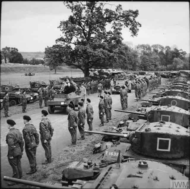 Churchill inspects the troops, 6 November 1941 worldwartwo.filminspector.com