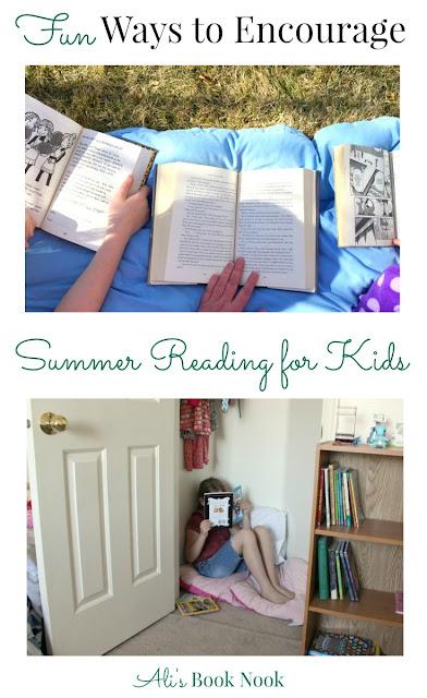 Encourage Summer Reading Kids