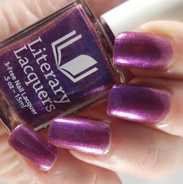 Purple-multi-chrome-nail-polish