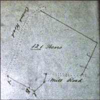 1857 Dower Survey of Peter Reves' Land