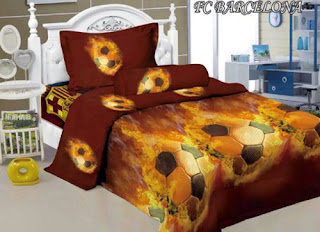 Sprei Kintakun Luxury Kids FC Barcelona