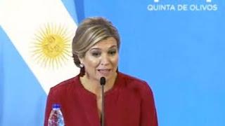 Lo dijo durante una conferencia de prensa con la vicepresidenta Gabriela Michetti.