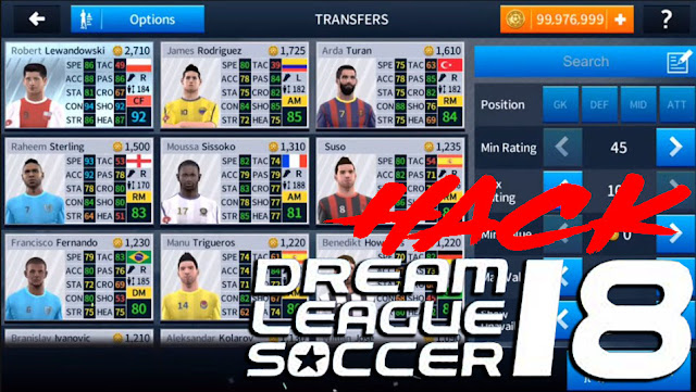 cara nak hack coin dream league soccer 2018