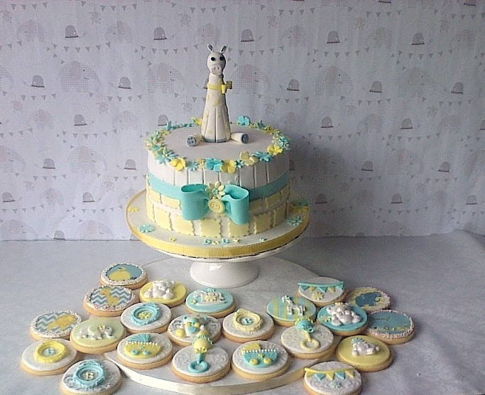 Baby Shower Cakes Durban ~ Cupcake boutique durban oh boy its a giraffe baby