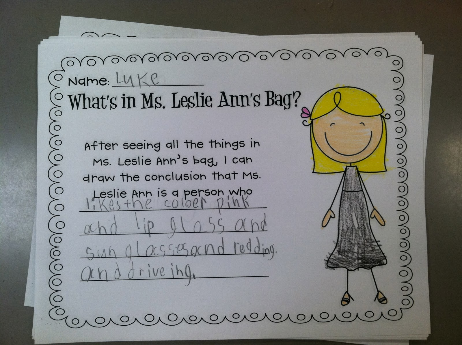 Life In First Grade A Babbling Abby Inspired Lesson