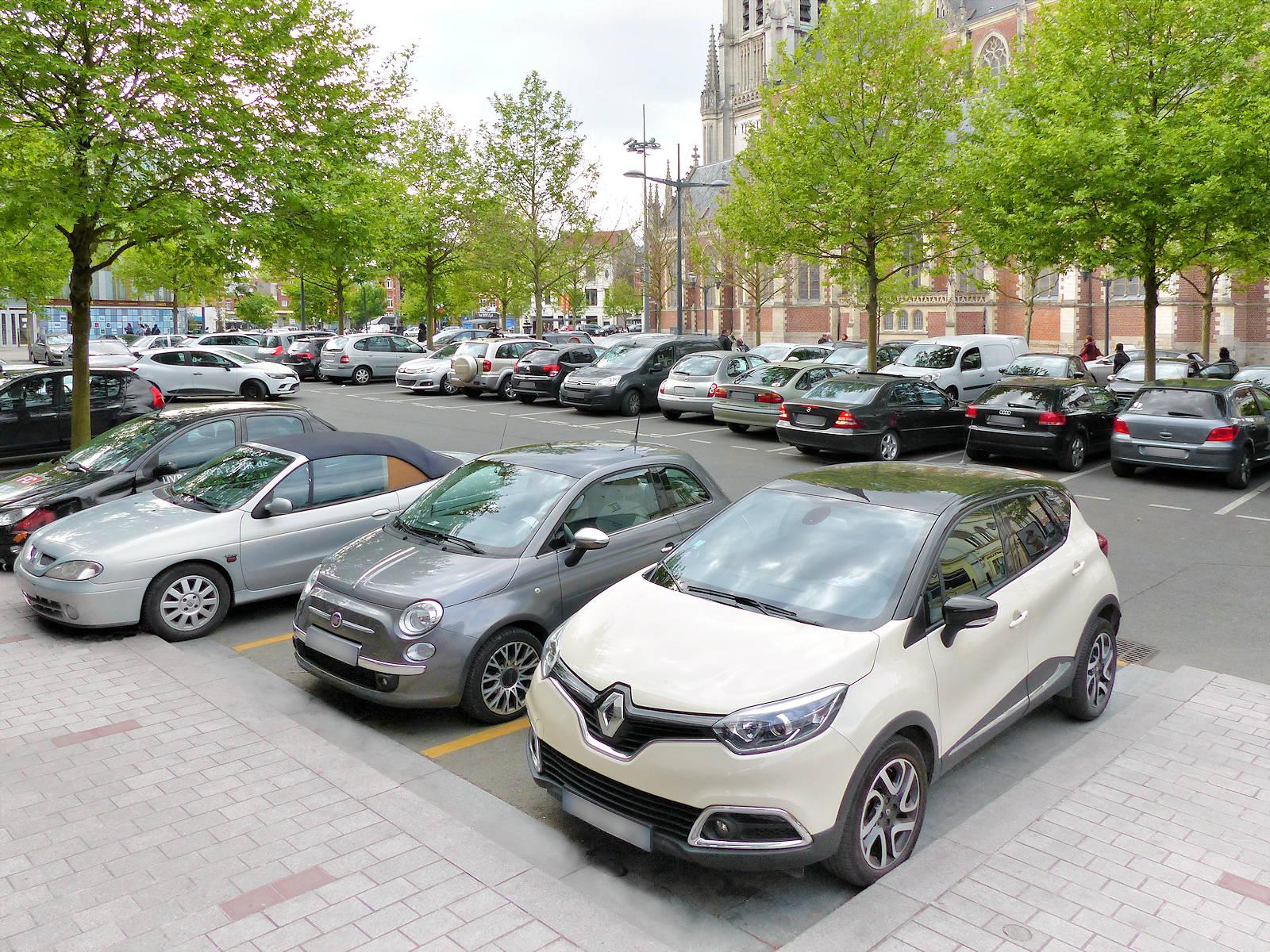 Parking Tourcoing Centre - Parvis Saint Christophe