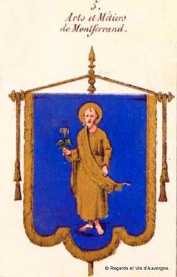 Bannière des Arts et Métiers d'Auvergne, Montferrand