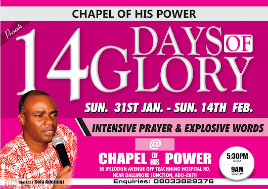 14Days Of Glory..Prayer Rally