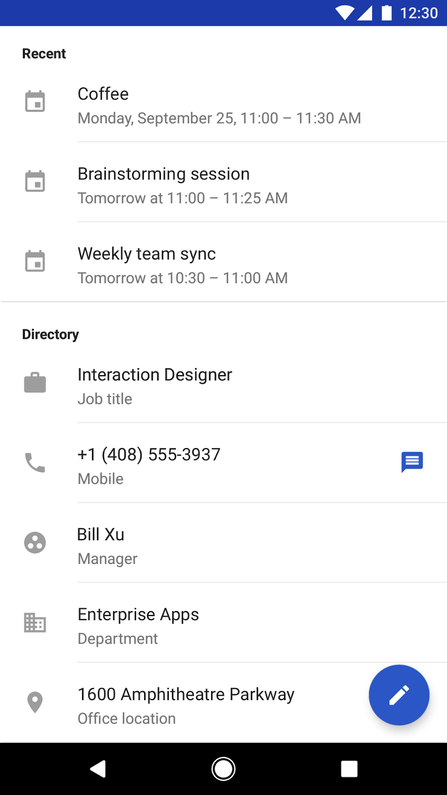 New Features In Google S Contacts App On Android Googblogs Com