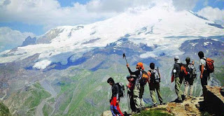 Jalur Pendakian Gunung Elbrus