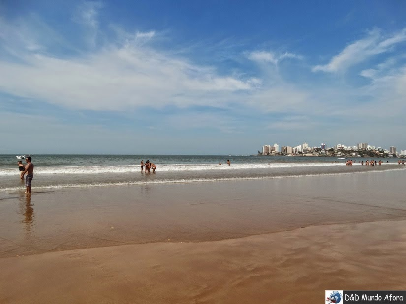 Praia do Morro - o que fazer em Guarapari - Espírito Santo