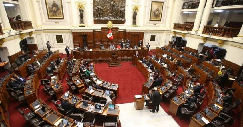 Pleno del Congreso inicia debate del Presupuesto Público 2019