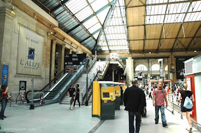 Gare du Nord eurostar station