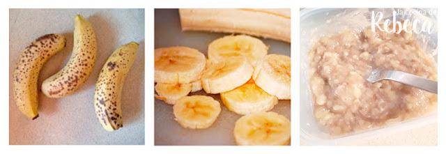 Receta de helado de plátano saludable 01