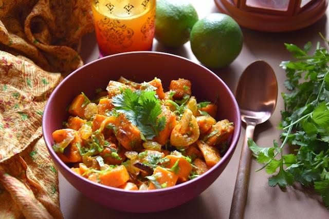 patates douces maroc gingembre cumin coriandre