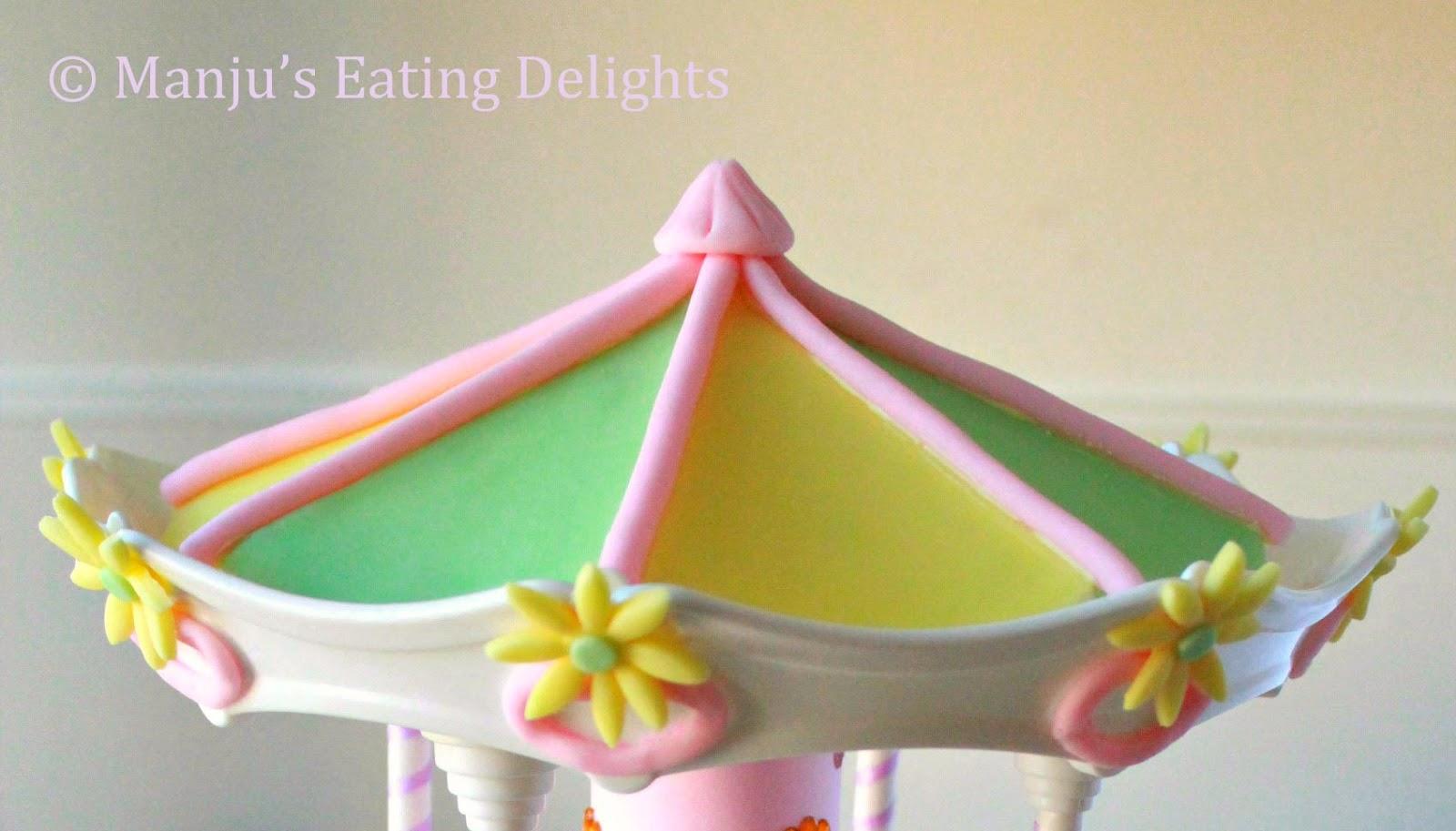How To Make A Fondant Carousel Cake