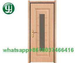 New Design Waterproof Wpc Bathroom Door