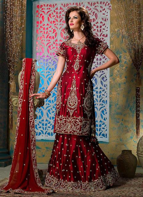 Image result for bridal lehenga choli photo