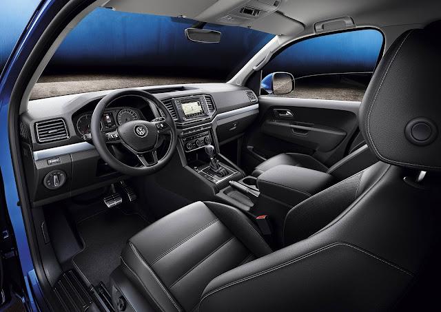 VW Amarok Extreme 2017 - interior