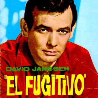 Imagen coloreada de la serie de TV: El fugitivo
