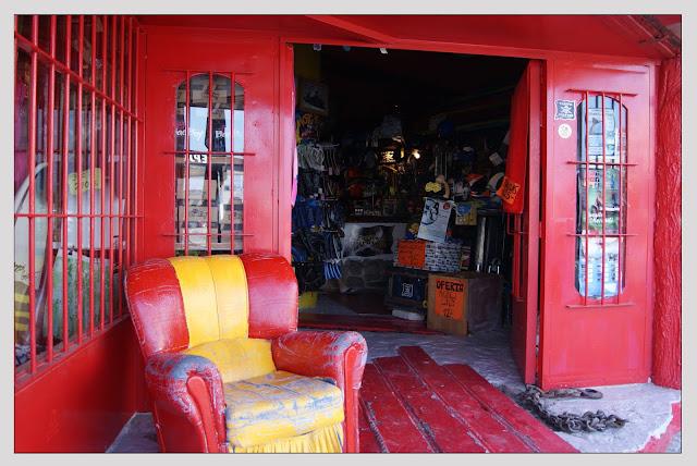 Tienda roja