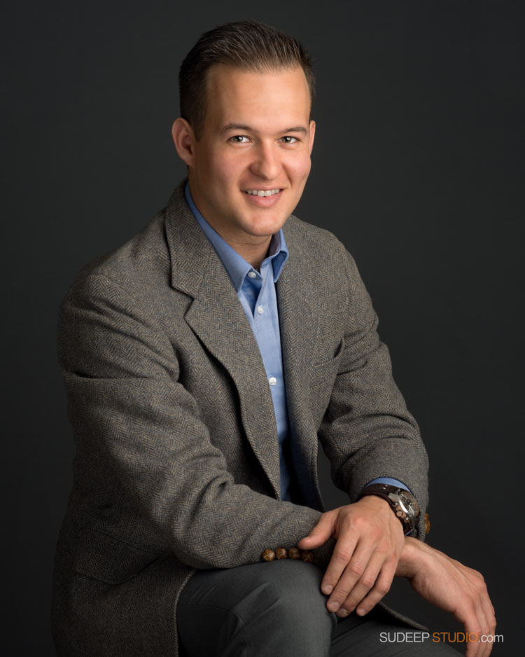Professional Portrait for Business Social Media SudeepStudio.com Ann Arbor Headshot Photographer
