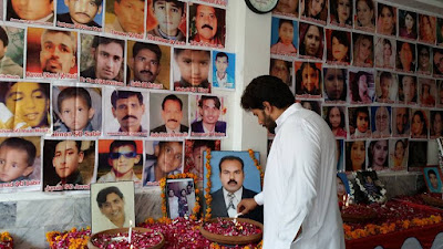 Orthodox Church of Pakistan remember lost loved ones as the third anniversary of twin blasts in All Saints Church,