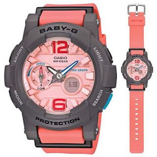 Jam tangan Casio Baby-G untuk wanita