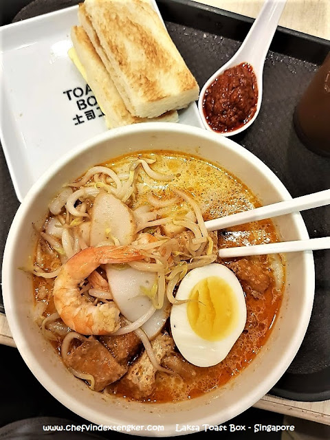 LAKSA di Toast Box – Singapore, vindex tengker