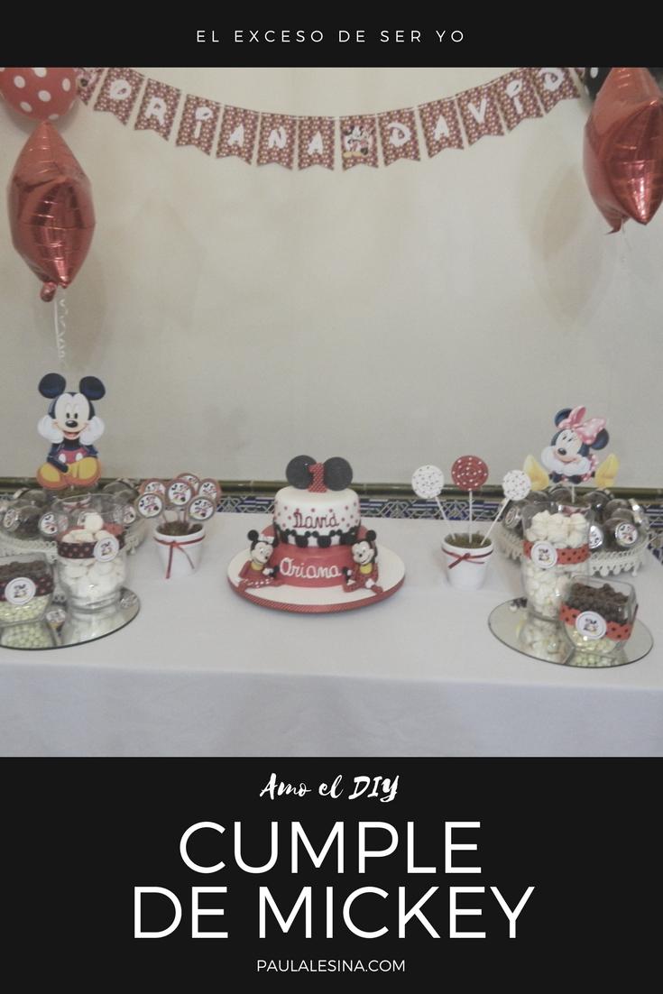 Cumpleaños de Mickey y Minnie