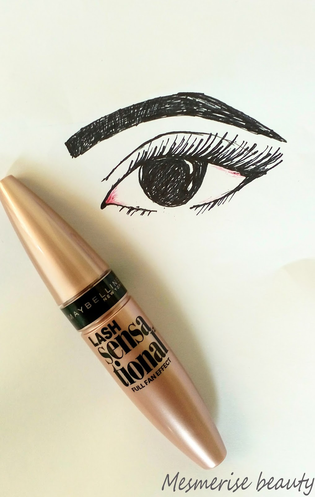 MAYBELLINE NEW YORK Lash Sensational Washable Mascara Review & Tips ...