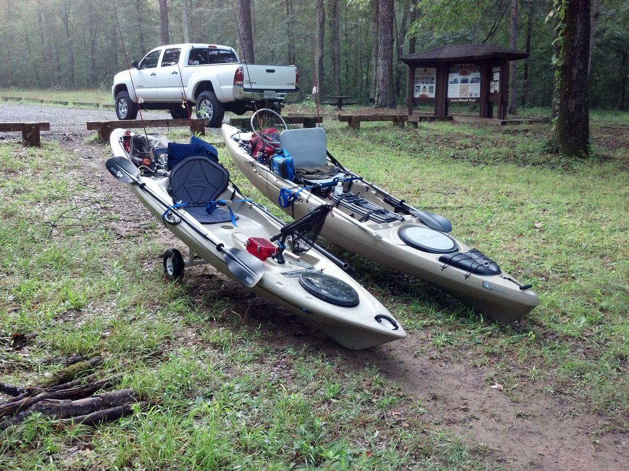 Georgia Kayak Fishing Ascend Fs12t