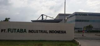 Info Loker SMK Operator Produksi PT. Futaba Industrial Indonesia Bekasi