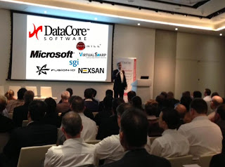 Thanks for a Great DataCore Customer and Partner Event DataCore Celebrates Year Anniversary and Introduces DataCore VDS to Meet UK/Nordics Demand for Affordable SMB Virtual Desktop Solutions