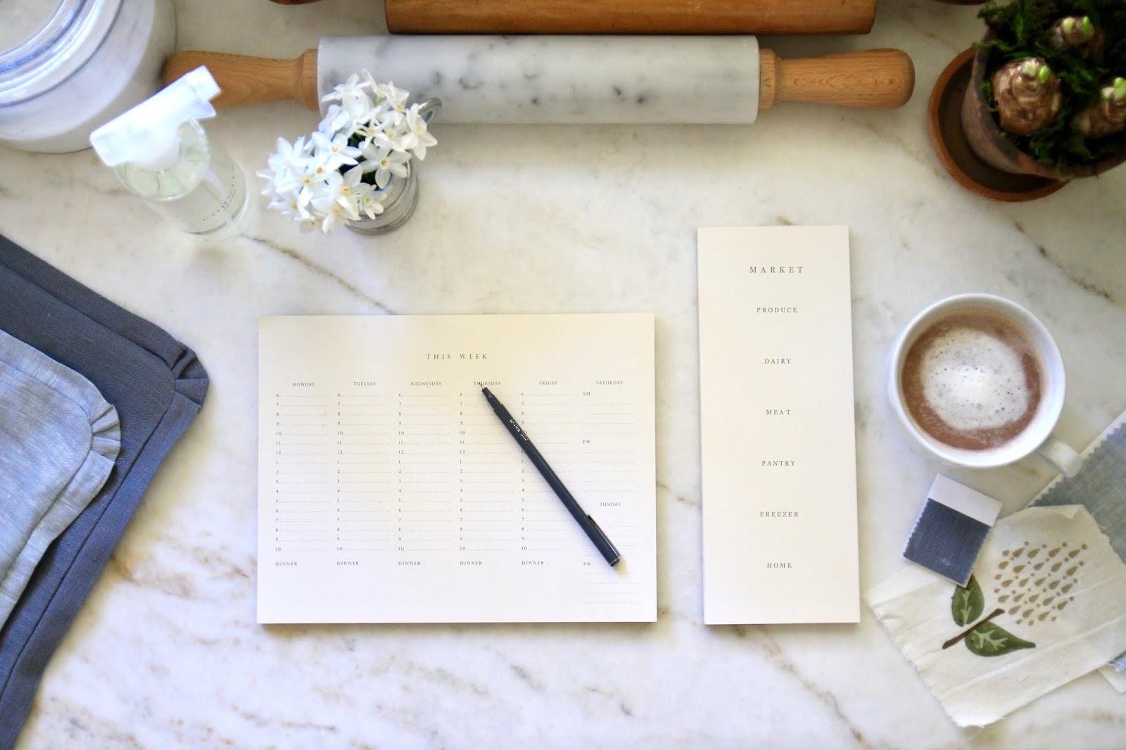 Jenny Steffens Hobick Spring Cleaning Worksheets