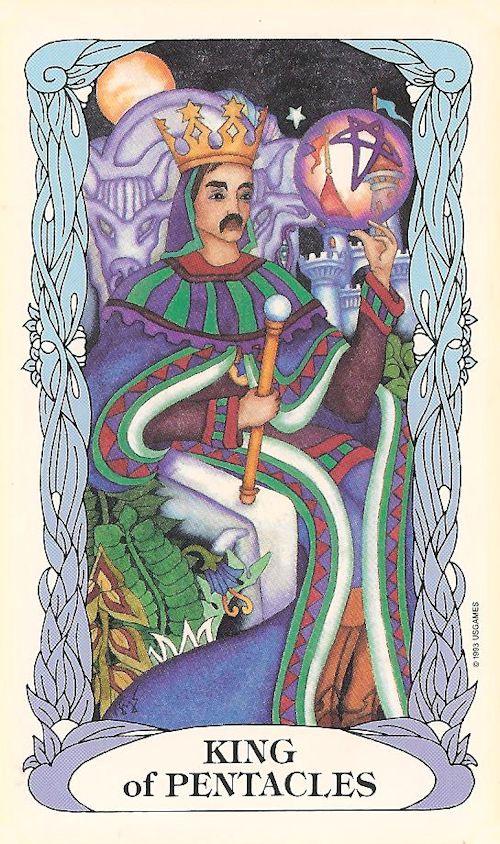 Tarot Notes A Journey Through My Tarot Decks The Magician: Tarot Notes: Journey Through My Decks: King Of Pentacles